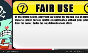 "a frame from YouTube's ""Copyright School"""